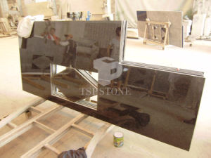 Black Granite Slab for Countertop and Tile pictures & photos