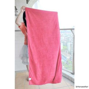 Super Absorbent Microfiber Bath Towels