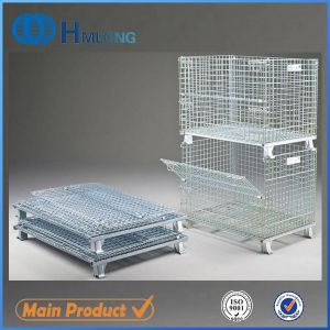 Collapsible Foldable Heavy Duty Wire Mesh Container pictures & photos