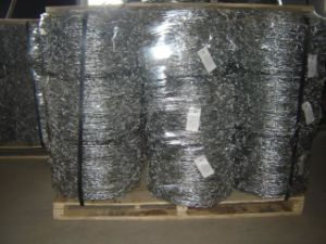 Electro Galvanized Barbed Wire in Good Quality pictures & photos