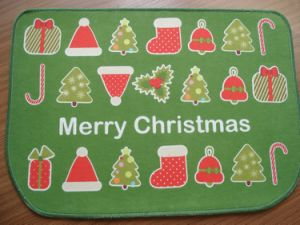 Polyester Door Mat -TPR Back pictures & photos