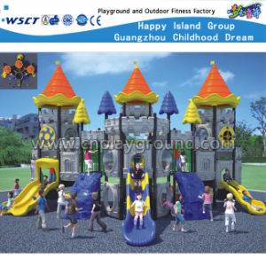 Outdoor Castle Playground Kids Slide Playsets HD-Kq50055A pictures & photos