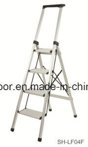 Double Aluminum Telescopic Ladder (EL-002A) pictures & photos