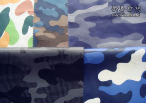 Polyester Taffeta/Dewspo with Camo-Print pictures & photos