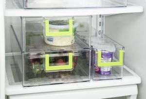 Pet Fridge Bins and Freezer Organizer Refrigerator Bins Storage Containers BPA-Free Drawer Organizers pictures & photos