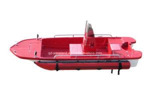 Aqualand 13feet Pontoon Boat/Bass Boat/Fibergass Fishing Boat/Rib Boat/Rescue (130) pictures & photos