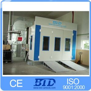 Btd7400 Economical Spray Booth for Sale Paint Booth Baking pictures & photos