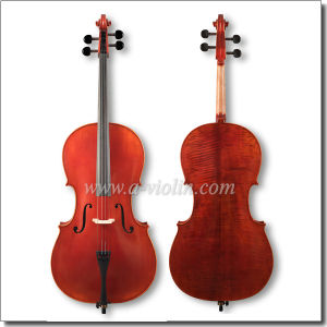 High Grade Flamed Advanced Cello with Bridge&String (CH100Z) pictures & photos