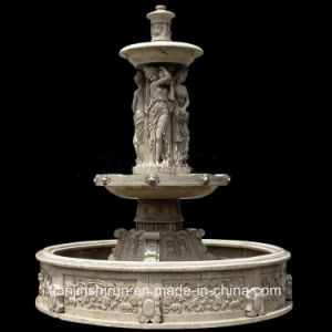 Marble Carving Statuary Fountain, Garden Fountain, Water Fall Fountain pictures & photos