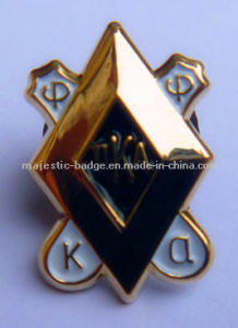 Customized Gold Plating & Soft Enamel Processpin pictures & photos