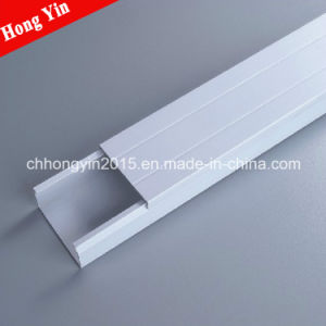 50*25mm Cabling Routing PVC Wiring Ducts pictures & photos