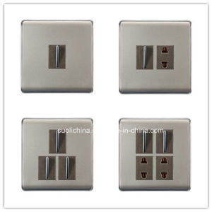 Pk10 Series Wall Switch with Different Color and Design pictures & photos