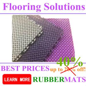 Anti-Slip Waterproof Outdoor Sports Court PP Material Interlock Shape Flooring pictures & photos