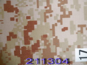 Desert Camel Rip-Stop Camouflage Military Fabric pictures & photos