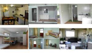20 Foot Container Made Modular House Canteen pictures & photos