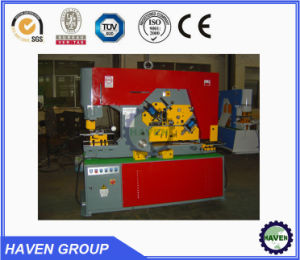 Q35 Y Hydraulic Iron Worker hydraulic Combined Punching and Shearing Machine with Notching pictures & photos