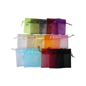 High Quality Jewelry Organza Packing Pouch