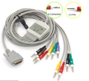 ECG Cables Compatible with Biocare pictures & photos