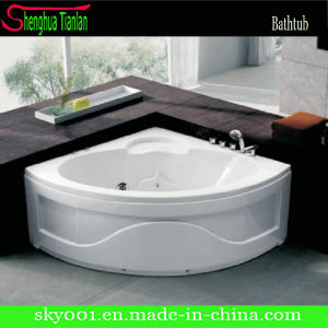 Modern Round Acrylic Deep Freestanding Bathtub (TL-312) pictures & photos