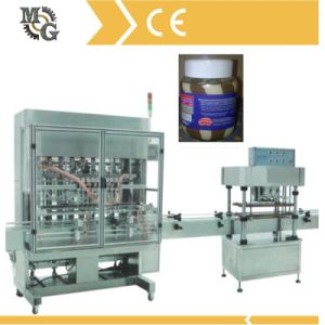 Automatic Two Color Chocolatejam Filling Capping Machine pictures & photos