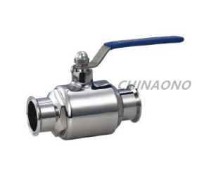 Stainless Steel Sanitary Straight Screw Type Ball Valve pictures & photos