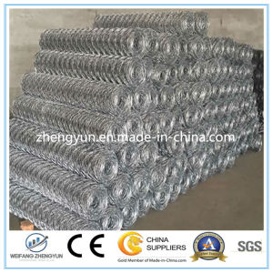 Hexagonal Galvanized Wire Mesh Gabion Box/ Galvanized Gabion Basket pictures & photos