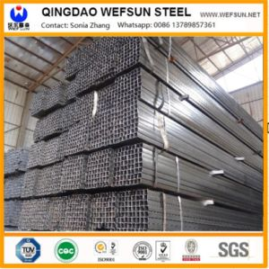 Black Steel Pipe with Rectangular Pipe/Square Pipe/Round Pipe pictures & photos