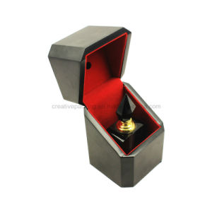 Arabic Style Matte Black Empty Wooden Perfume Box pictures & photos