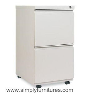 Filing Cabinet 2-Drawer Mobile Pedestal File Cabinet (SI6-LCF2DPF) pictures & photos