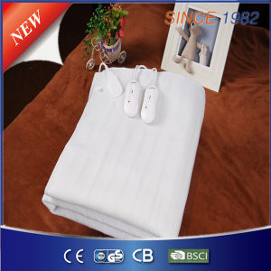 Ce/GS/CB/BSCI Approved Portable Polyester Electric Bed Heater pictures & photos