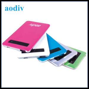 4000mAh Ultrathin Smart Touch Power Bank for iPhone/Samsung (PB-014)