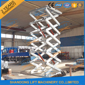 China Hot DIP Galvanized Hydraulic Electric Swimming Pool Lift with Ce pictures & photos