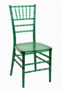 Green Polycarbonate (PC) Resin Party Banquet Tiffany Chair pictures & photos
