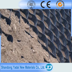 Hot Melt Geocell for Soft Soil Foundation and Steep Slope Protection Road Construction pictures & photos