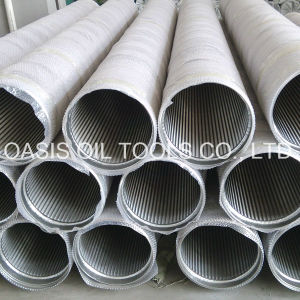 All-Welded Stainless Steel Wire Wrapped Wedge Wire Screen Pipe