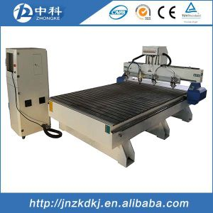 Heavy Duty Seamless Welded Bed Structure Relief Wood CNC Router pictures & photos