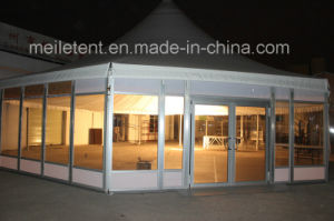 Dia. 16m Permanent Snowproof Outdoor Events Octagonal Pagoda Glass Tent pictures & photos