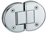 Round Shape Stainless Steel Shower Hinge pictures & photos