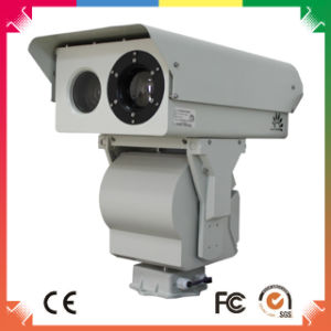 10km Dual View Thermal Imaging CCTV Camera with HD IP Module pictures & photos