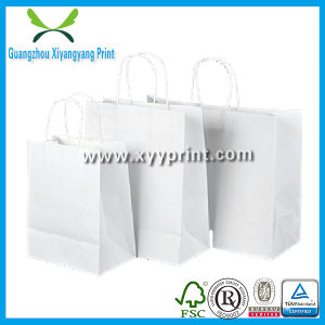 Low Cost White Kraft Paper Packaging Bag pictures & photos