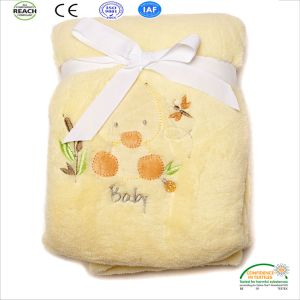 OEM Baby Blankets Customize Logo Size and Material pictures & photos