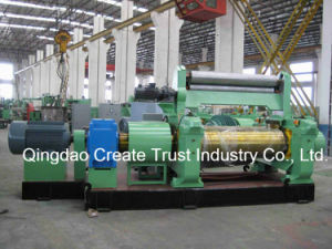 2017 New Design Rubber Mixing Mill with Double Output Motor (XK450) pictures & photos