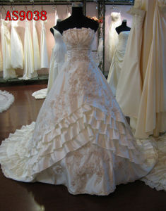 Beautiful Wedding Dresses/Wedding Gowns/Wedding Dress (AS9038)