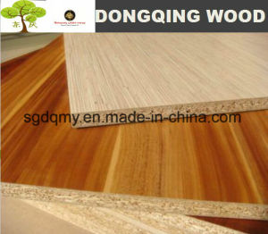 Cherry Melamine Particle Board for Outdoor Useage pictures & photos