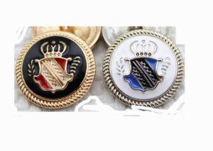 2014 Fashion Oiled Metal Button Wholesale