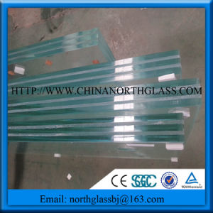 Polished Edge Clear Laminated Glass Panel Lowest Price pictures & photos