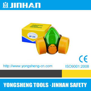 Twin Tank Industrial Gas Mask Respirator with Valve (D-1002C)