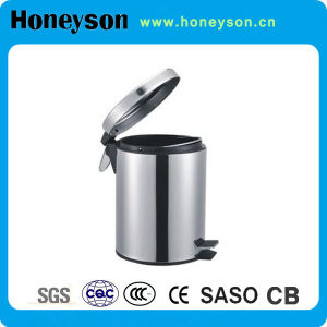 Fire Safe Construction Design Pedal Dustbin for Hotel pictures & photos