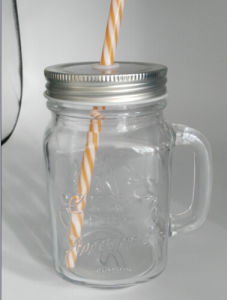 Glass Jar / Handle Jar/ Mason Jar pictures & photos