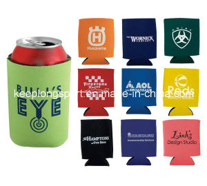Fashionable Customfull Color Printing Neoprene Can Cooler pictures & photos